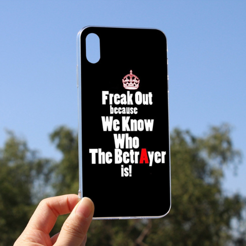 Freak Out Cellphones Cover Coque For iPhone 6plus 6s 6 5 5s SE 7 8 X XS max XR 8plus 7plus 105